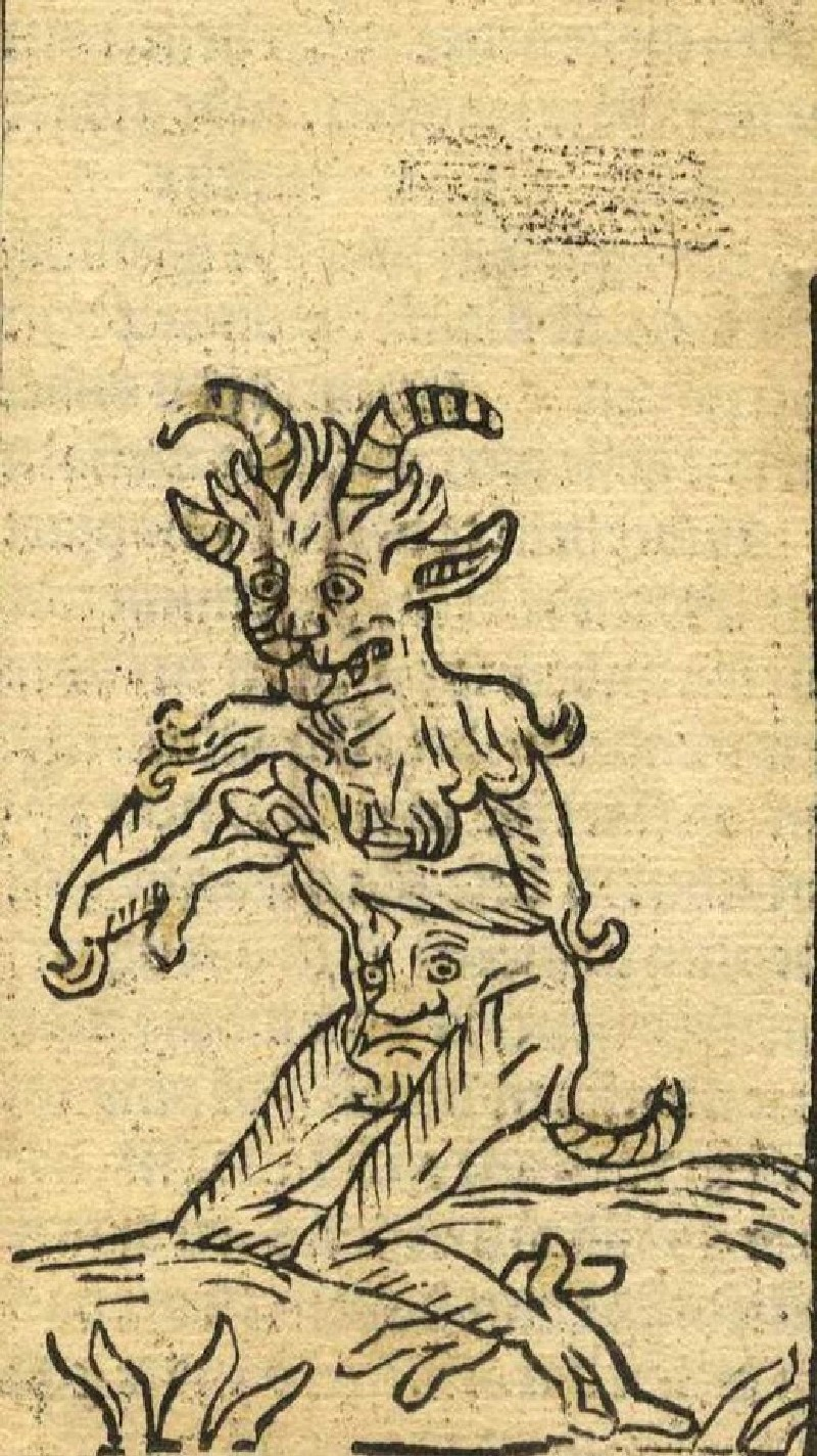 A Demon (WA2003.Douce.5078, record shot)