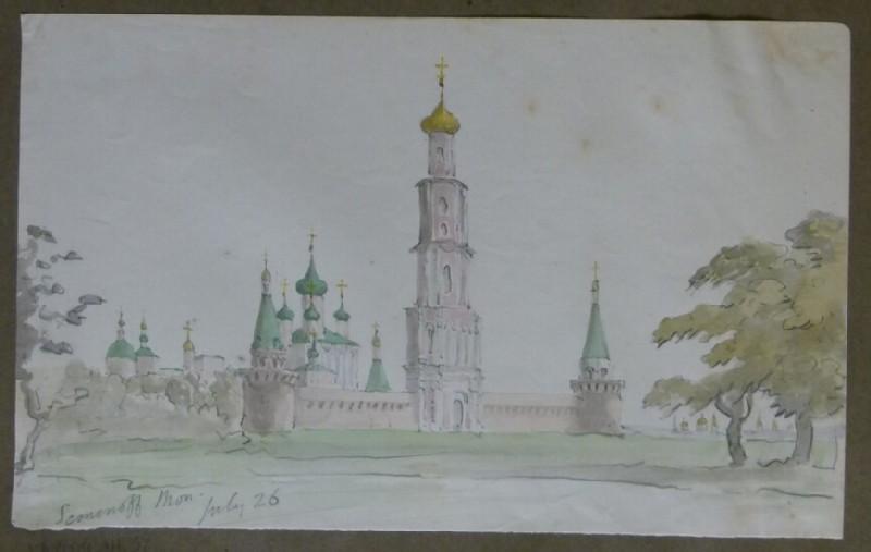 View of Orthodox Church, Russia (WA2004.111.36)