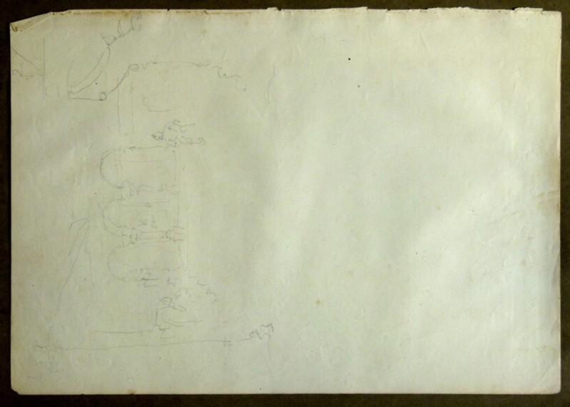Architectural sketch (WA2004.111.91, record shot)