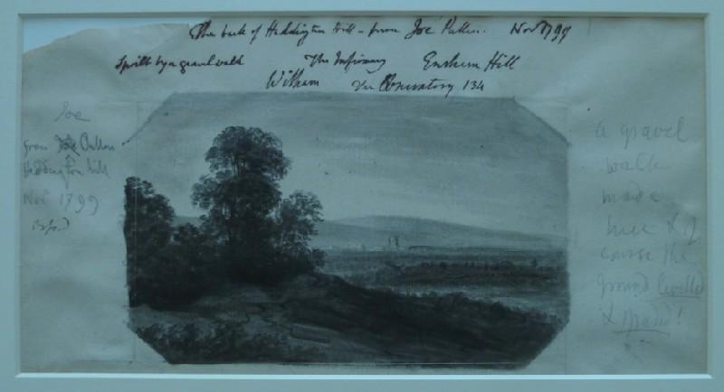 The Back of Headington Hill (WA2004.49, record shot)