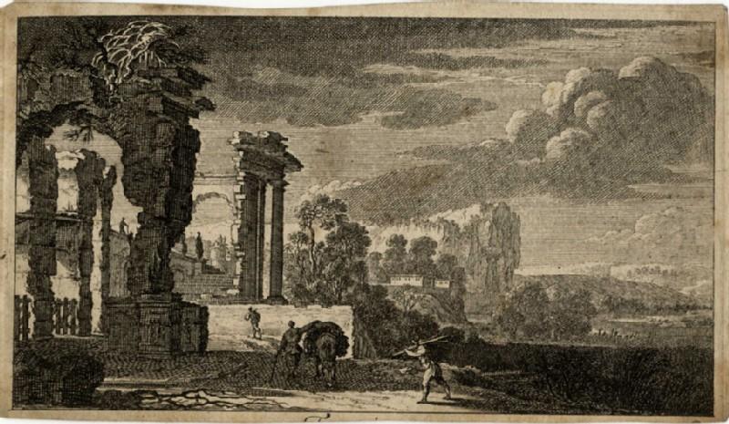View of antique ruins (WA2007.100, record shot)