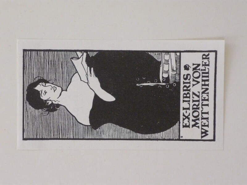 Bookplate for Moriz von Weittenhiller