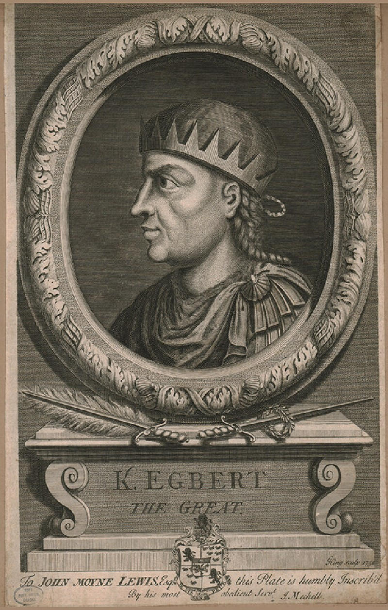 Portrait of Egbert the Great