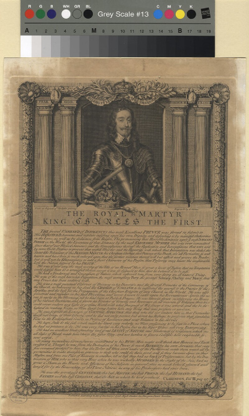 Portrait of Charles I (WAHP11374, record shot)