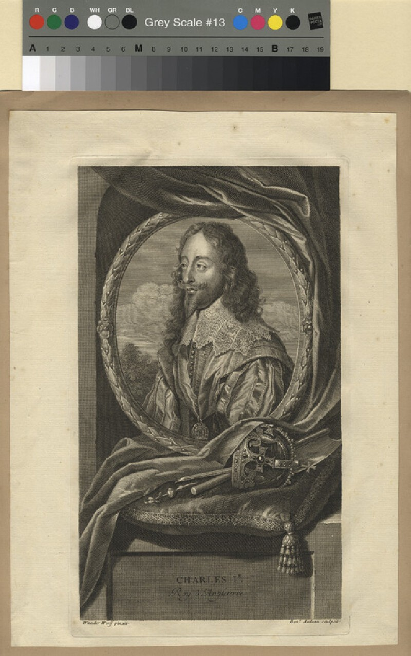Portrait of Charles I (WAHP11388, record shot)