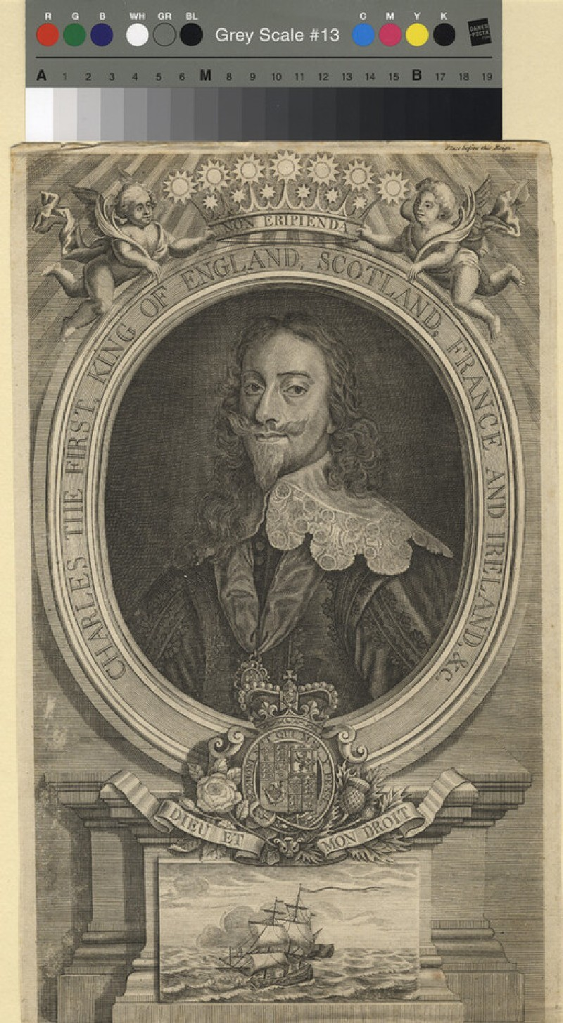Portrait of Charles I (WAHP11398, record shot)