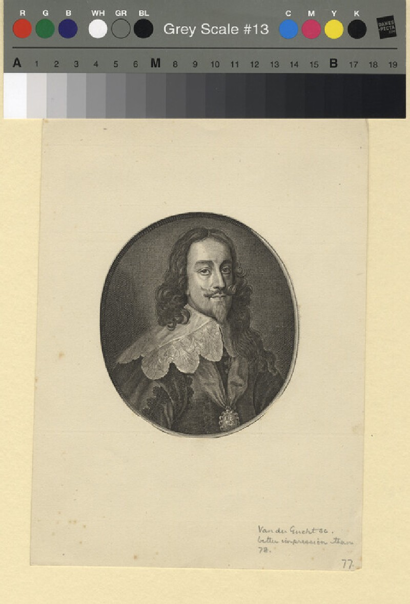 Portrait of Charles I (WAHP11407, record shot)