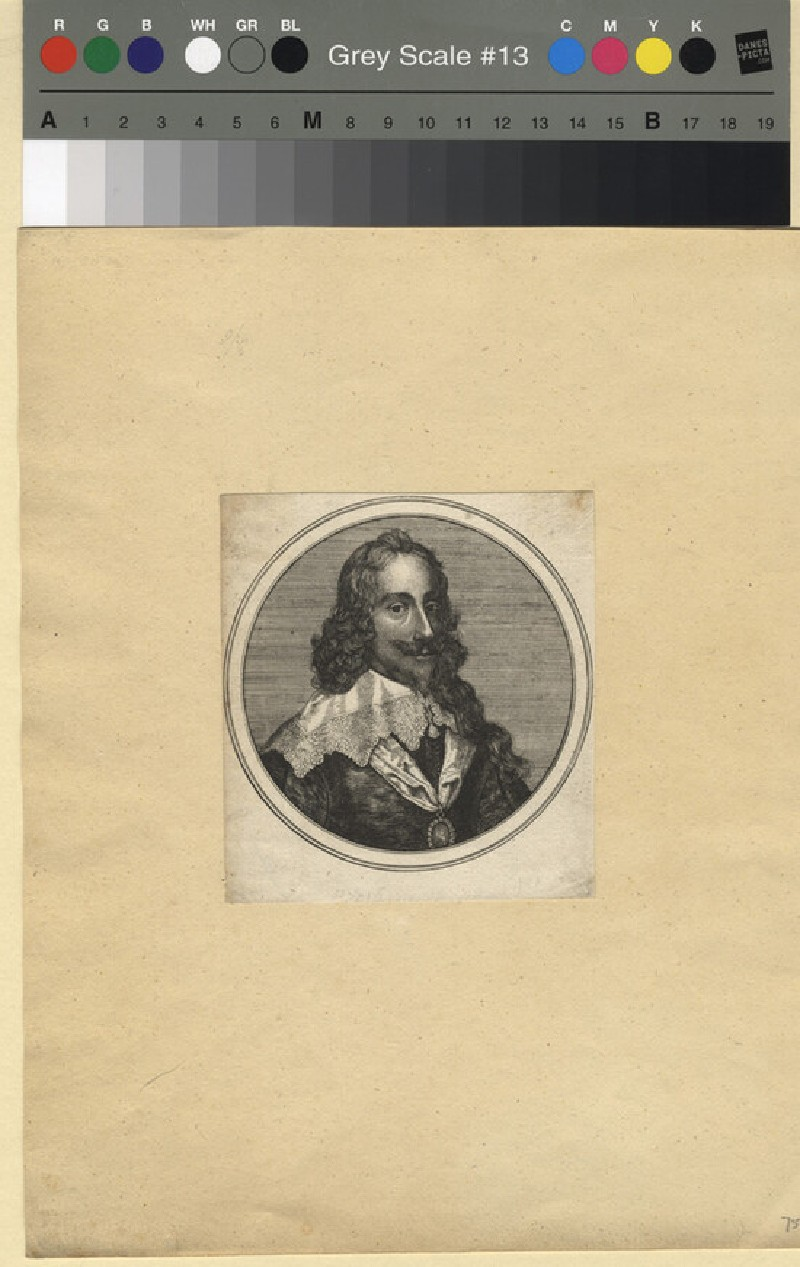 Portrait of Charles I (WAHP11409, record shot)