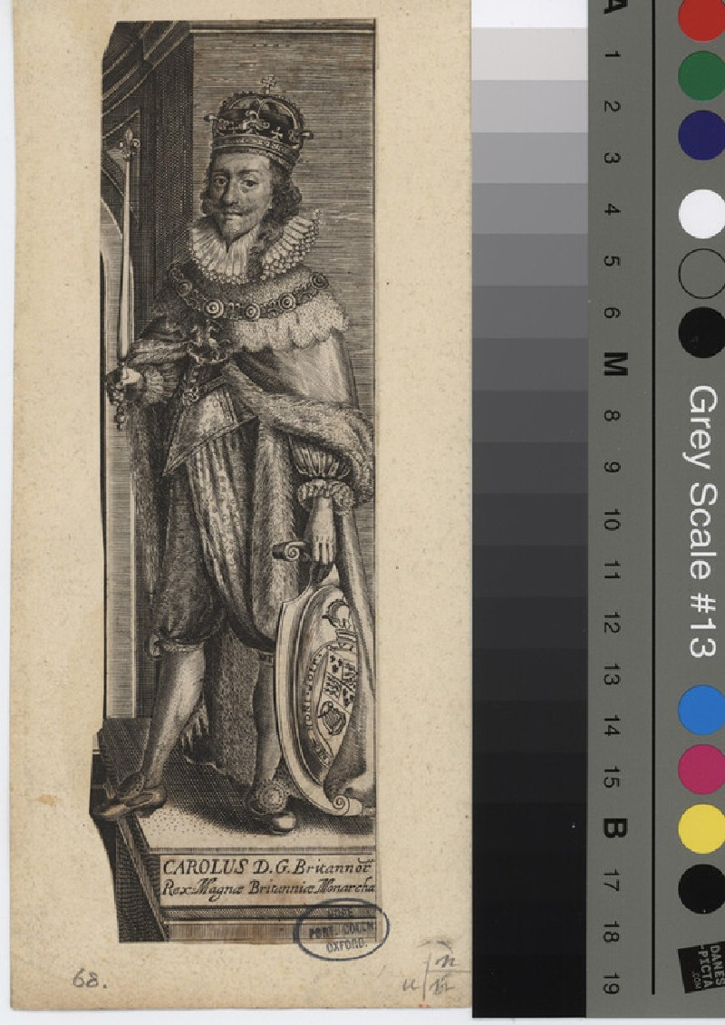 Portrait of Charles I (WAHP11412, record shot)