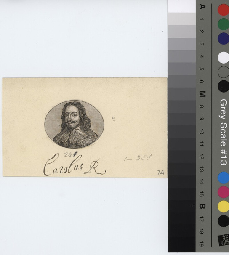 Portrait of Charles I (WAHP11413, record shot)