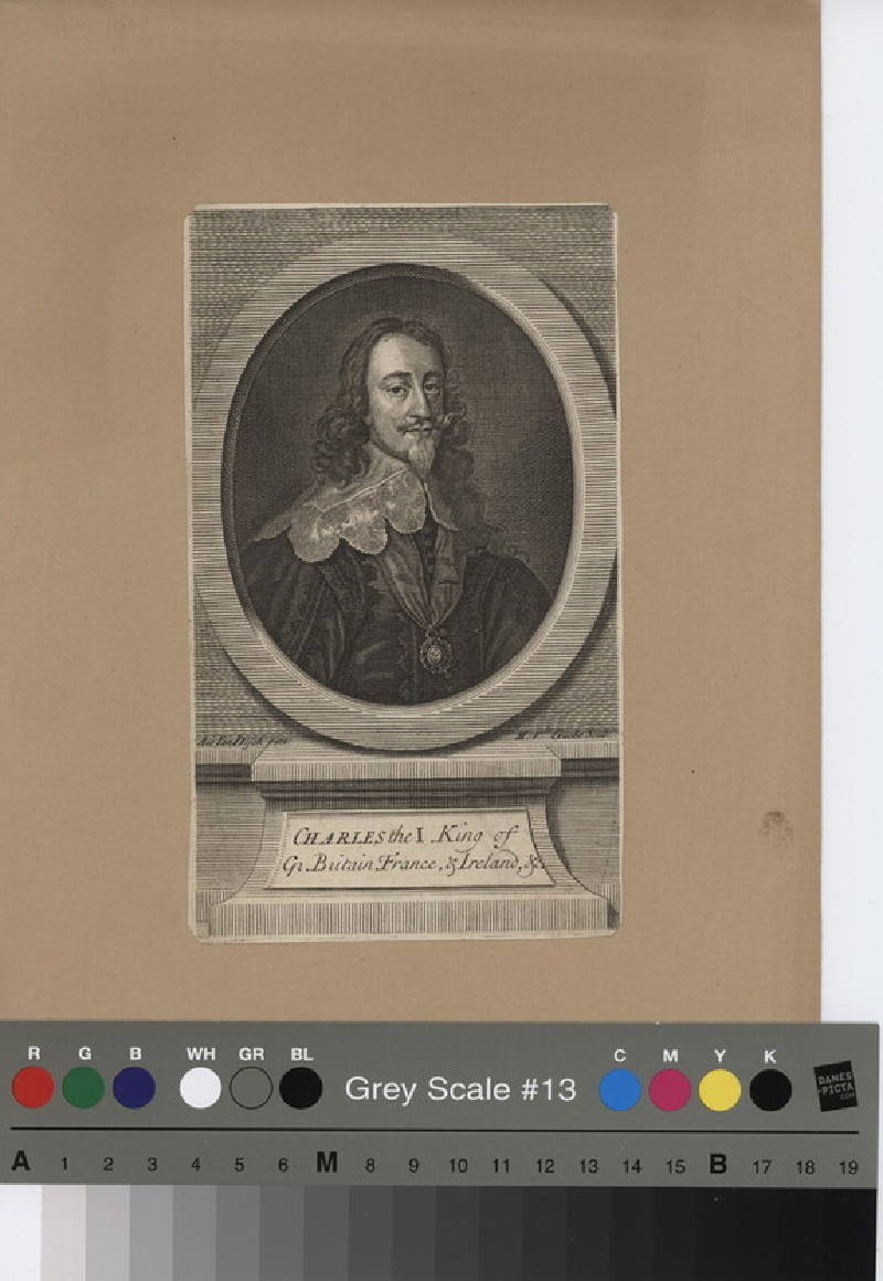 Portrait of Charles I (WAHP11414, record shot)