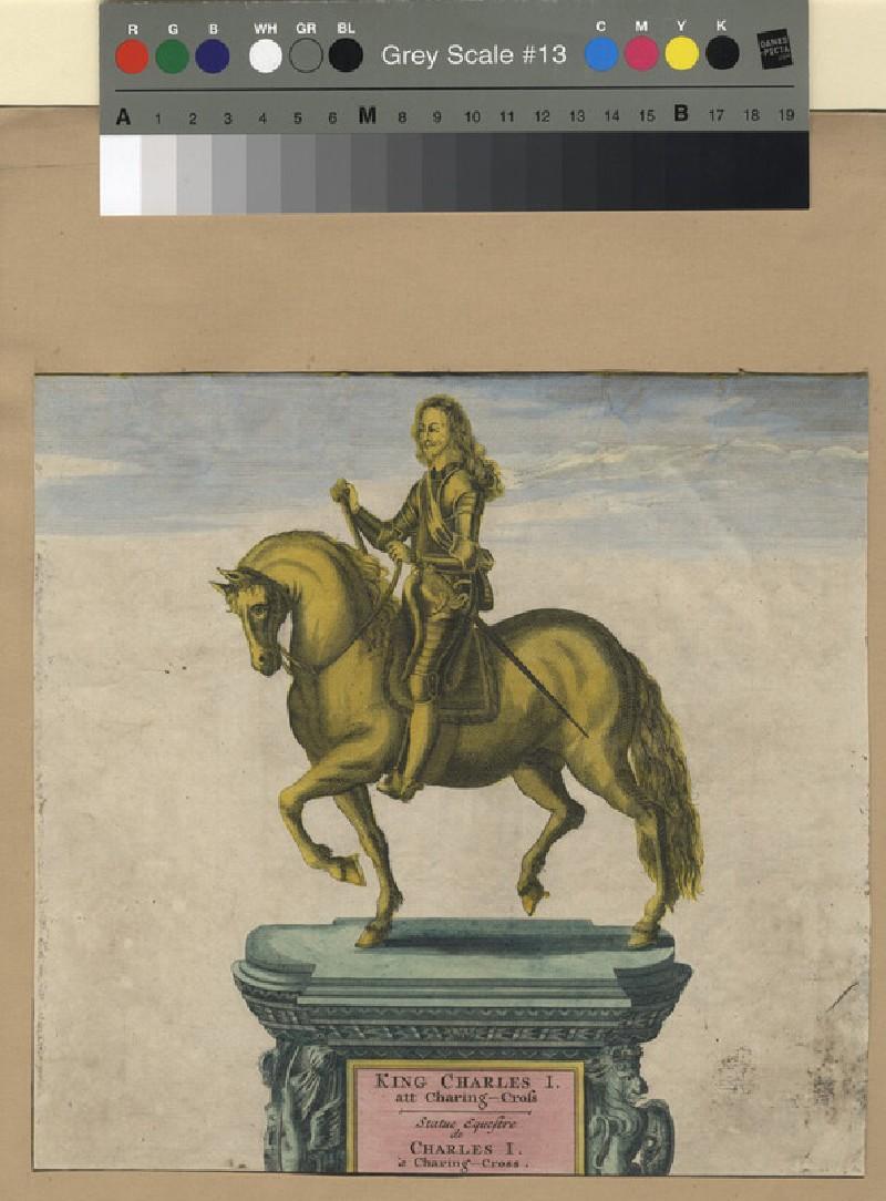 King Charles I at Charing Cross (WAHP11519, record shot)