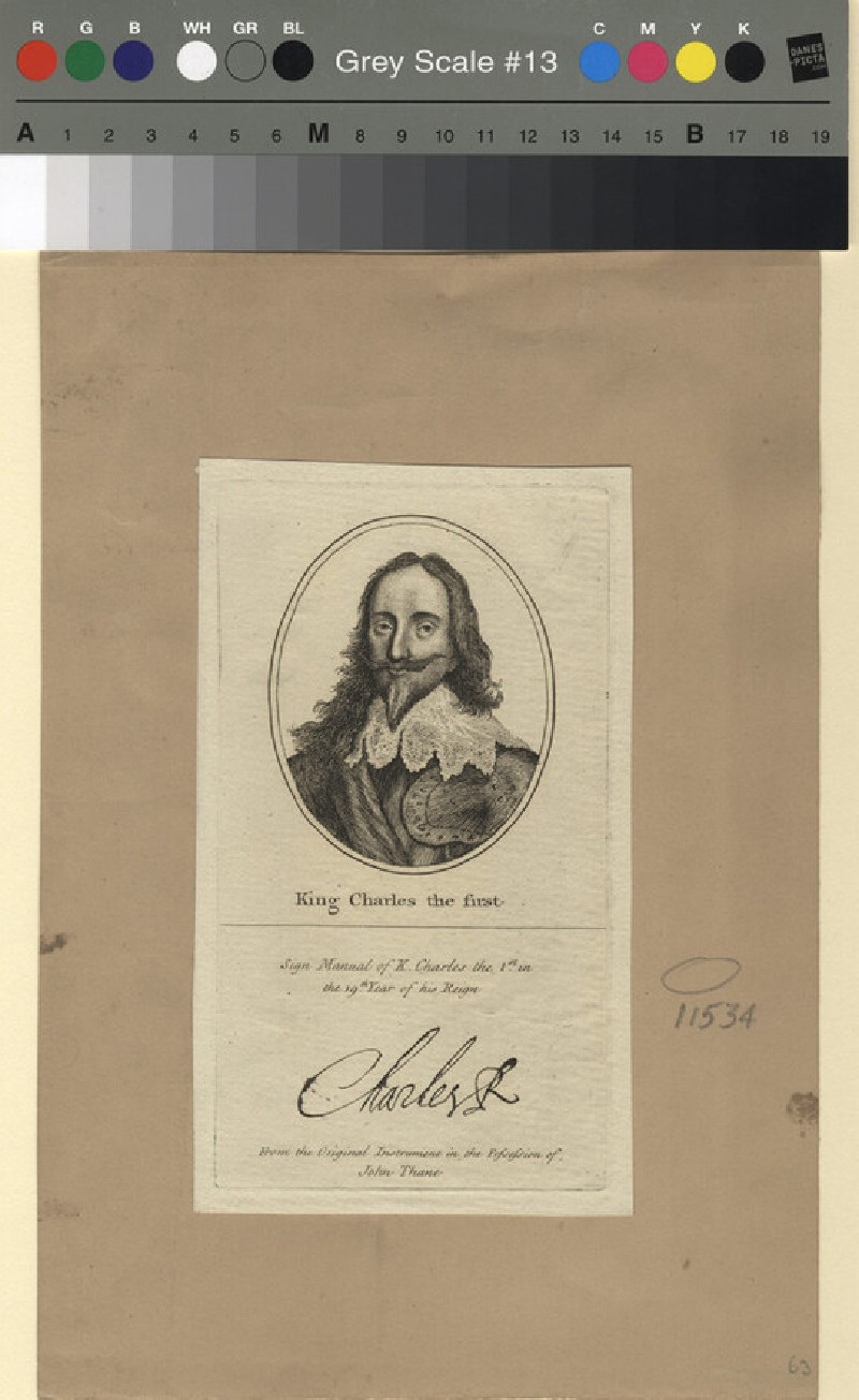 Portrait of Charles I (WAHP11534, record shot)