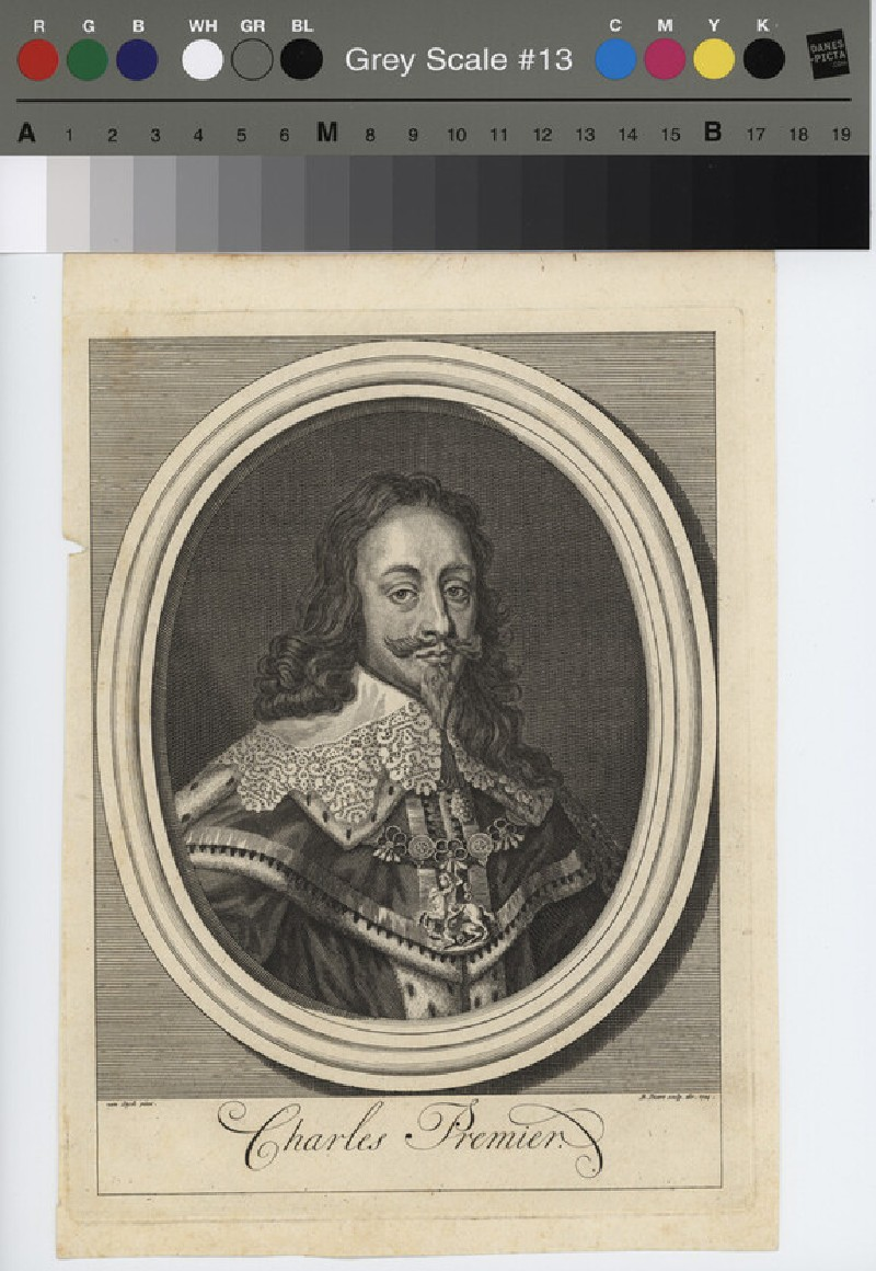 Portrait of Charles I (WAHP11537, record shot)