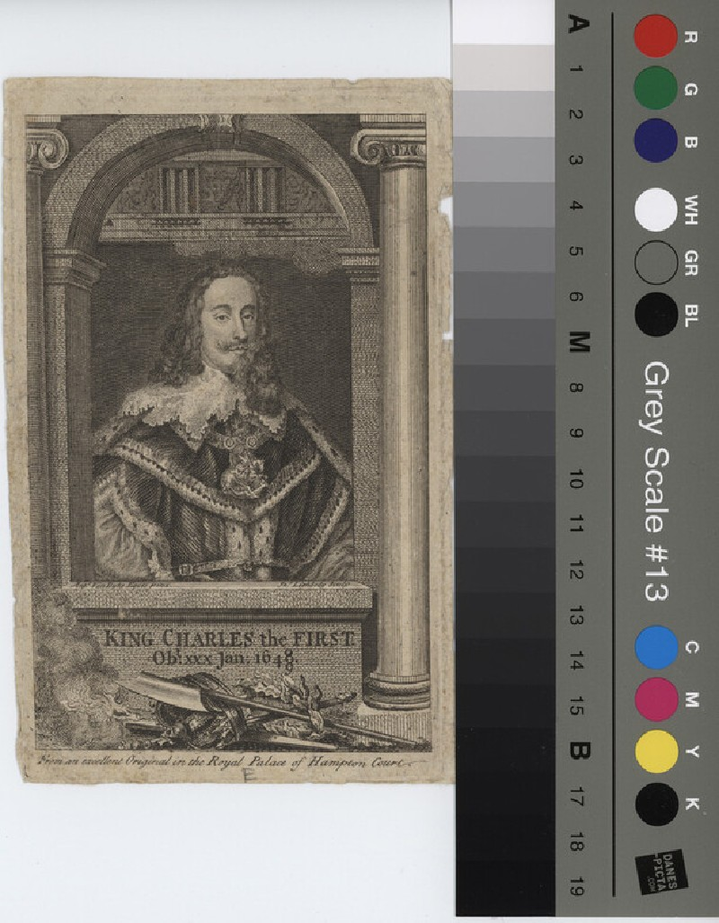 Portrait of Charles I (WAHP11540, record shot)