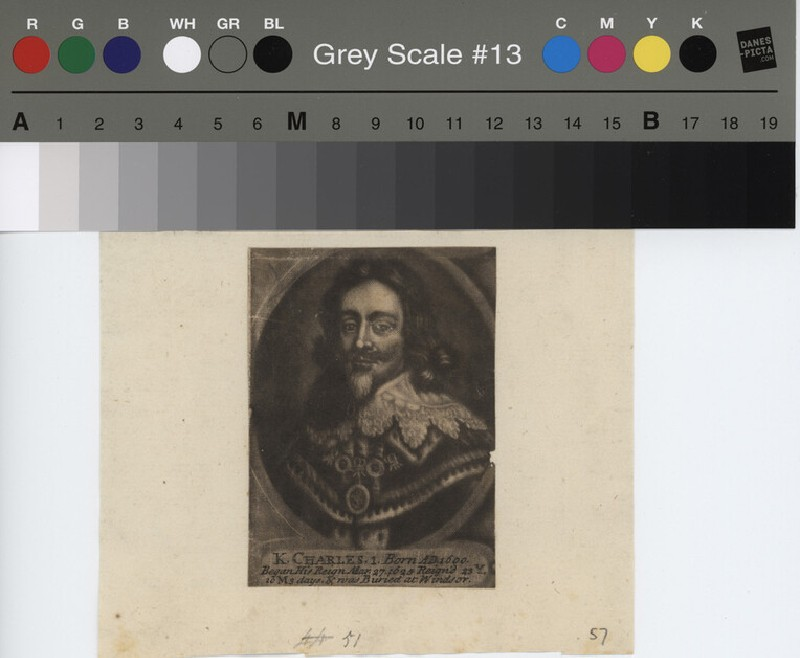 Portrait of Charles I (WAHP11542, record shot)