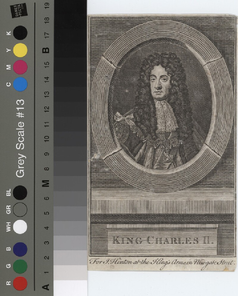 Portrait of Charles II (WAHP11773, record shot)