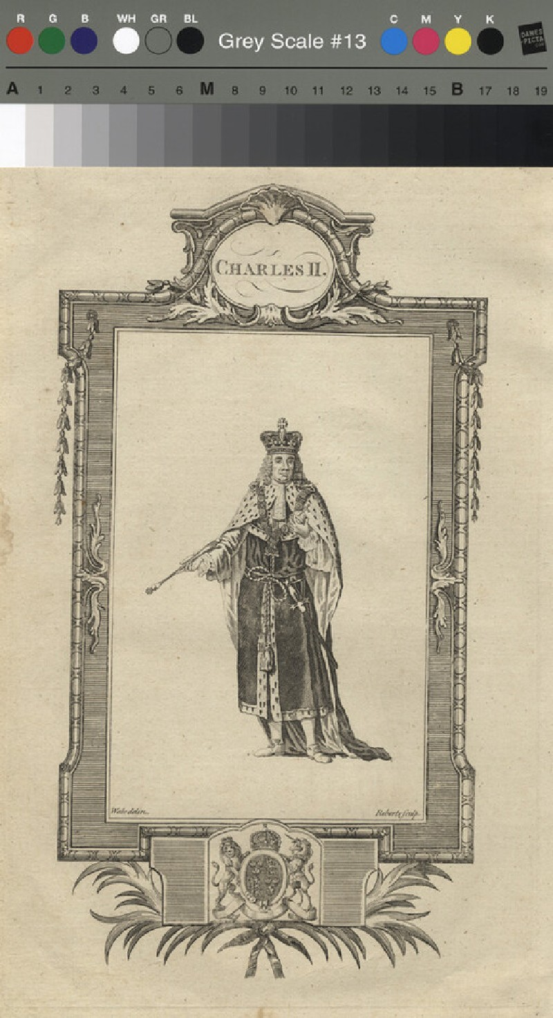 Portrait of Charles II