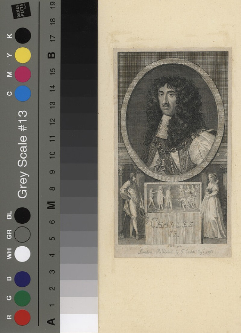 Portrait of Charles II (WAHP11799, record shot)