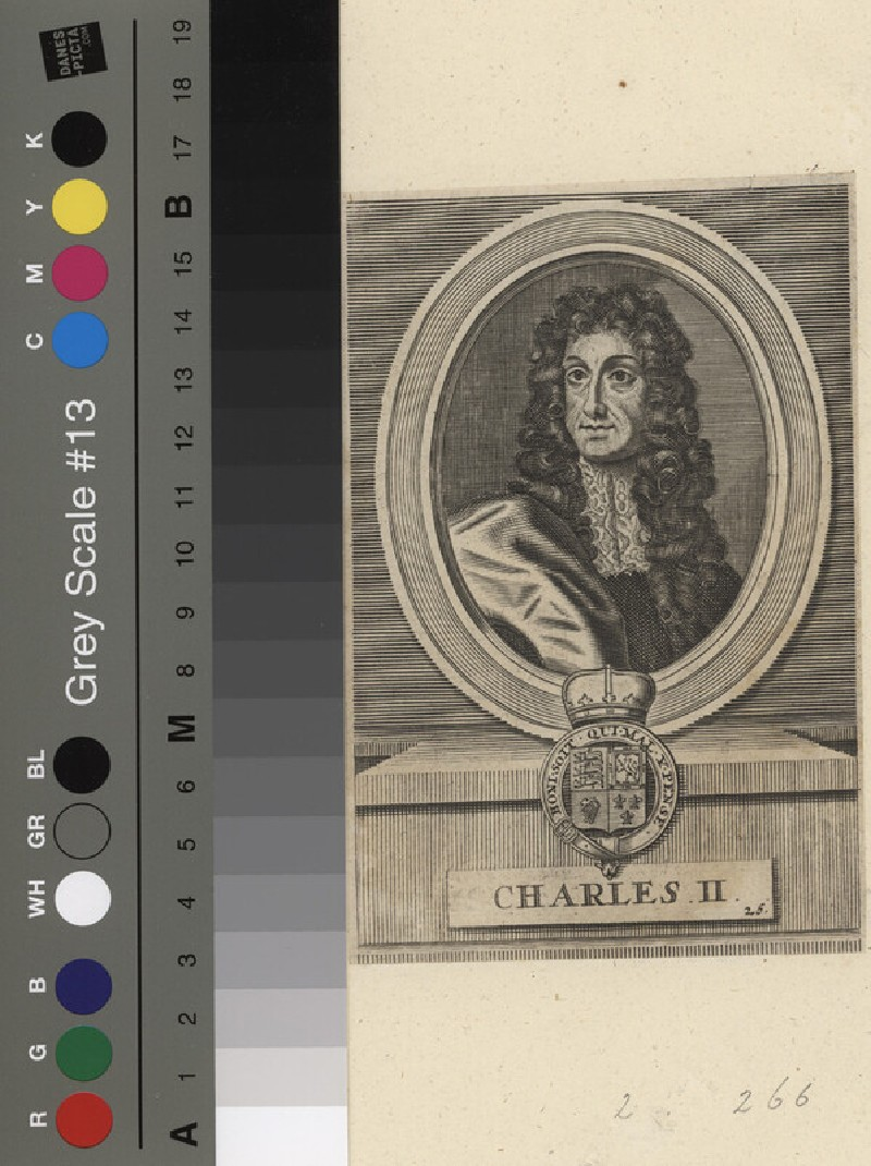 Portrait of Charles II (WAHP11819, record shot)