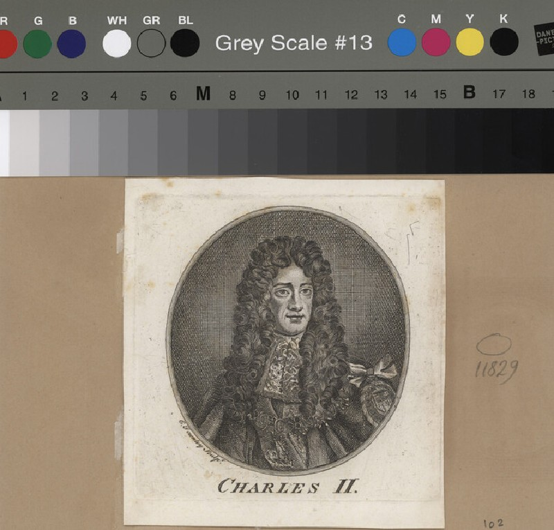 Portrait of Charles II (WAHP11829, record shot)