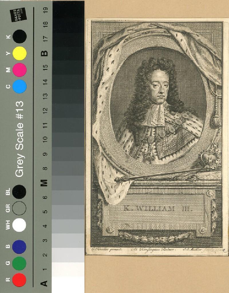 Portrait of William III (WAHP12032, record shot)