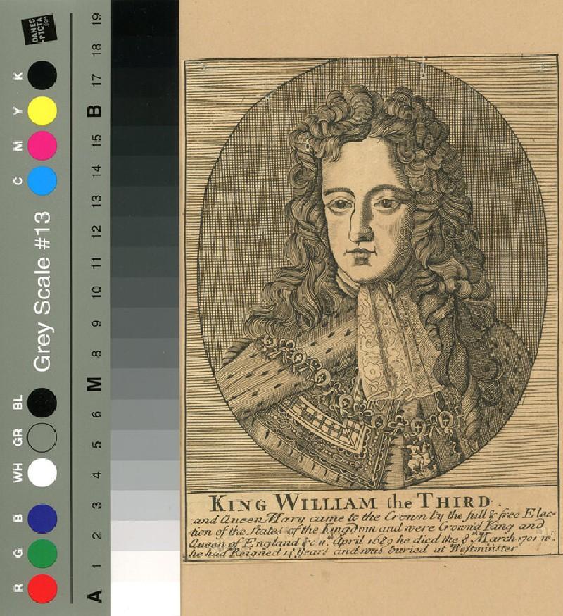 Portrait of William III (WAHP12034, record shot)