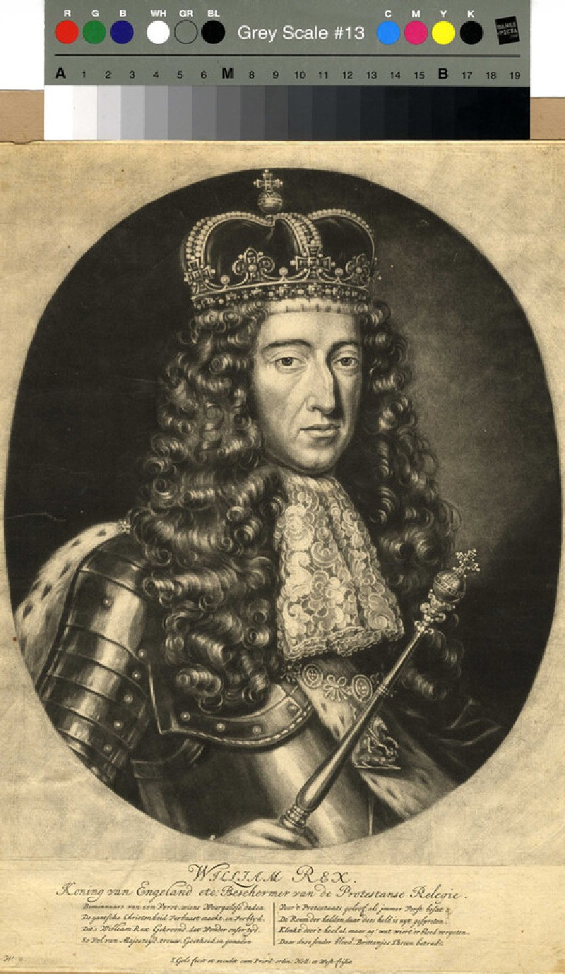 Portrait of William III (WAHP12053, record shot)