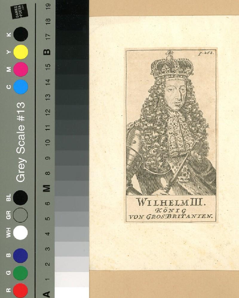 Portrait of William III (WAHP12056, record shot)