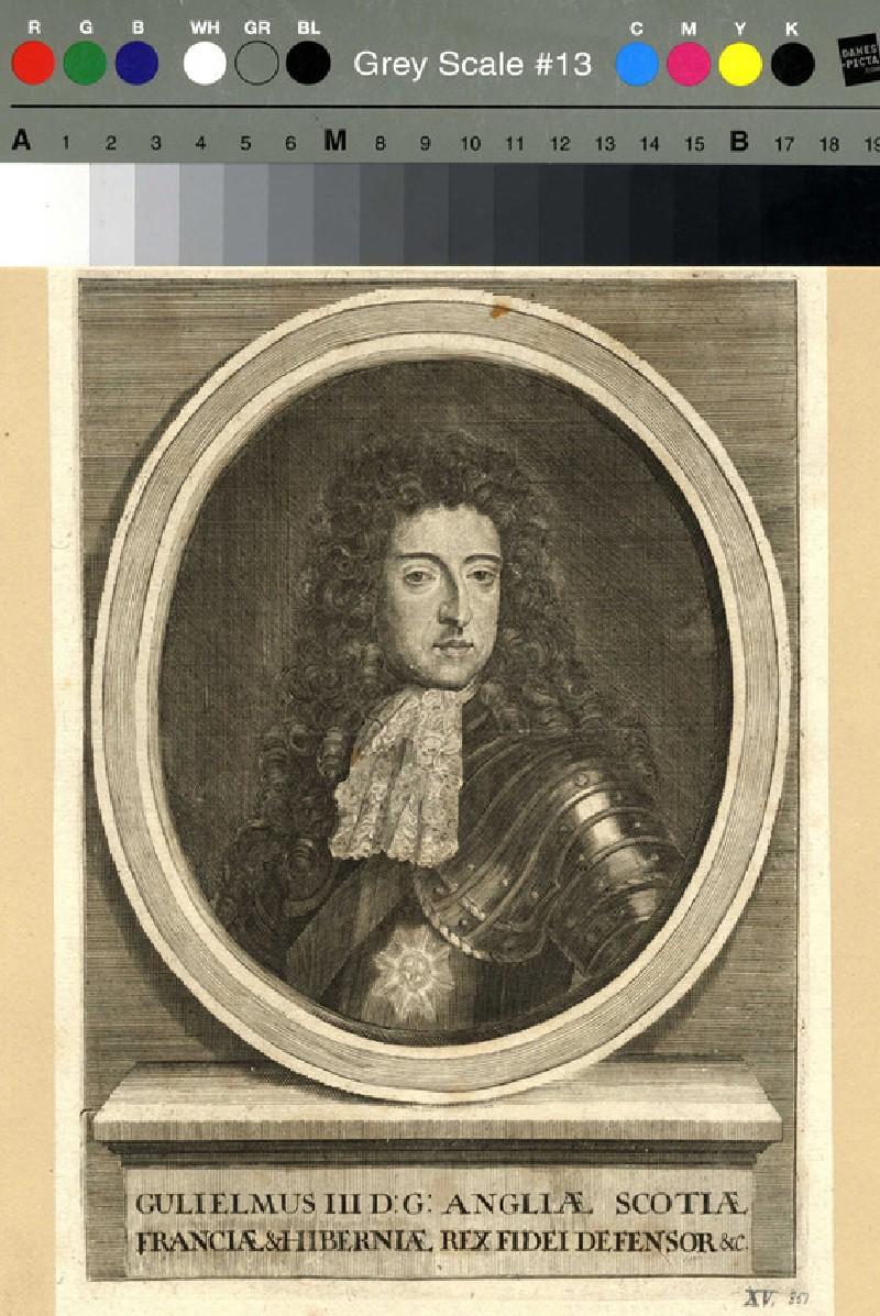 Portrait of William III (WAHP12063, record shot)