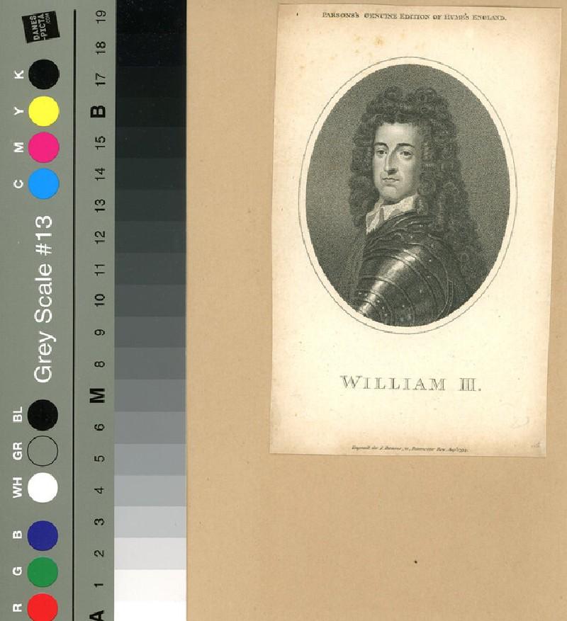 Portrait of William III (WAHP12065, record shot)