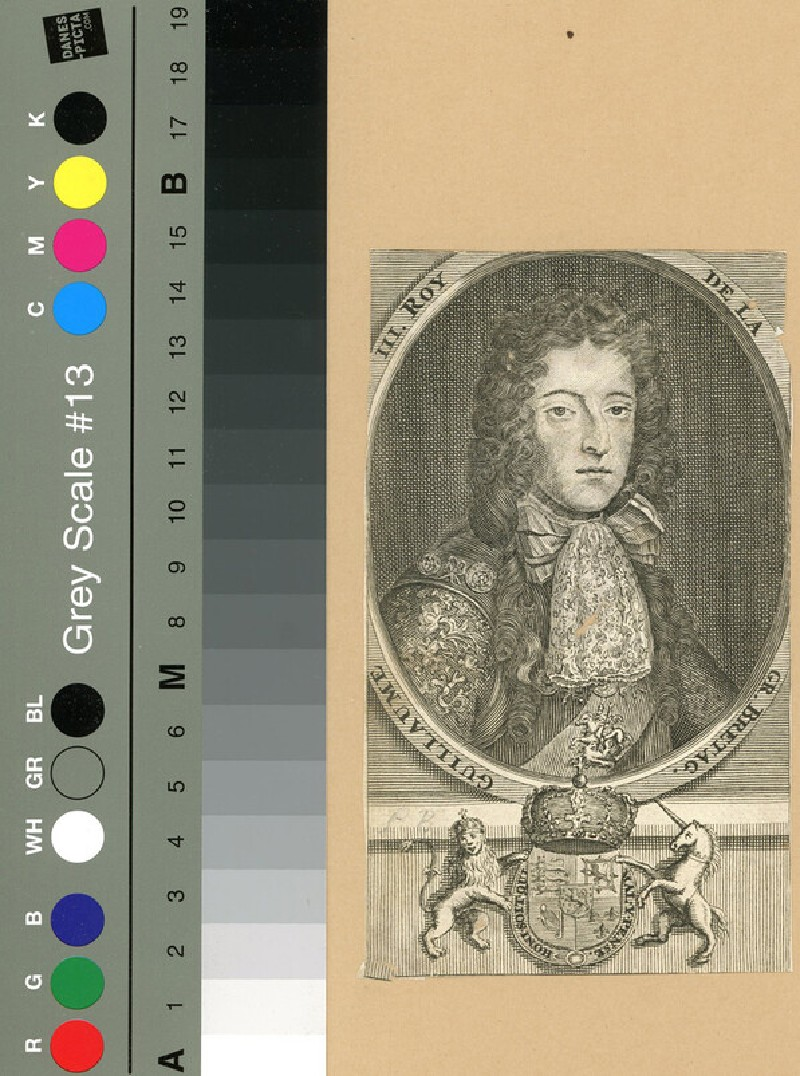 Portrait of William III (WAHP12075, record shot)
