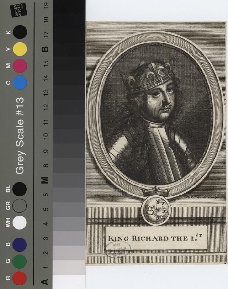 Portrait of Richard I (WAHP12116.1, record shot)