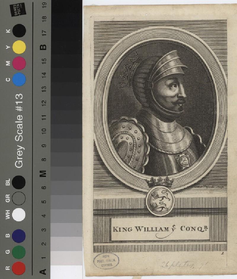 Portrait of William I (WAHP12118, record shot)