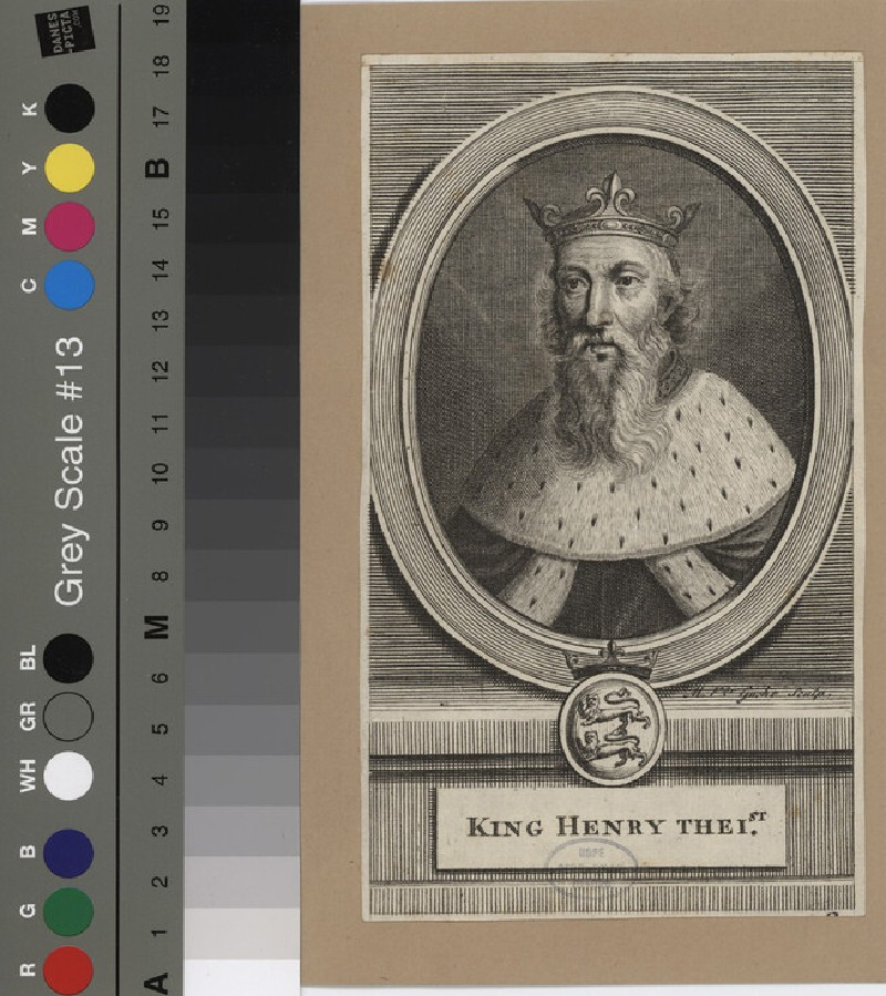 Portrait of Henry I (WAHP12120.1, record shot)