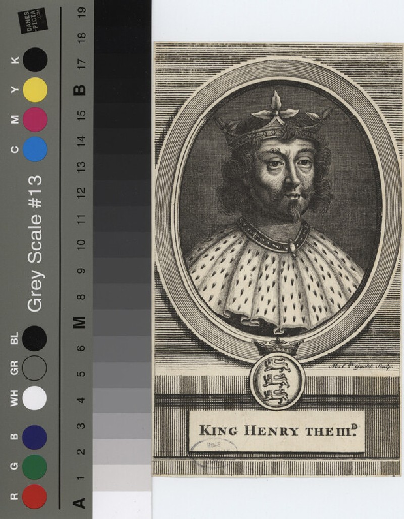 Portrait of Henry III (WAHP12124.1, record shot)