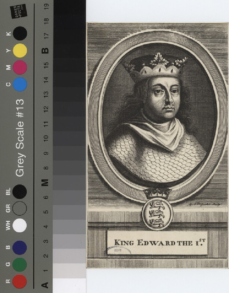 Portrait of Edward I (WAHP12125.1, record shot)