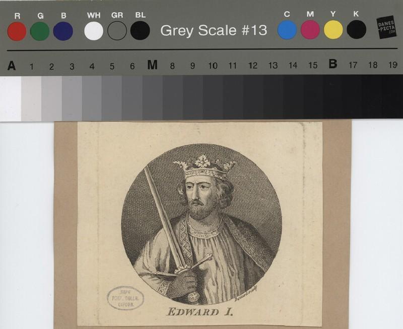 Portrait of Edward I (WAHP12127, record shot)