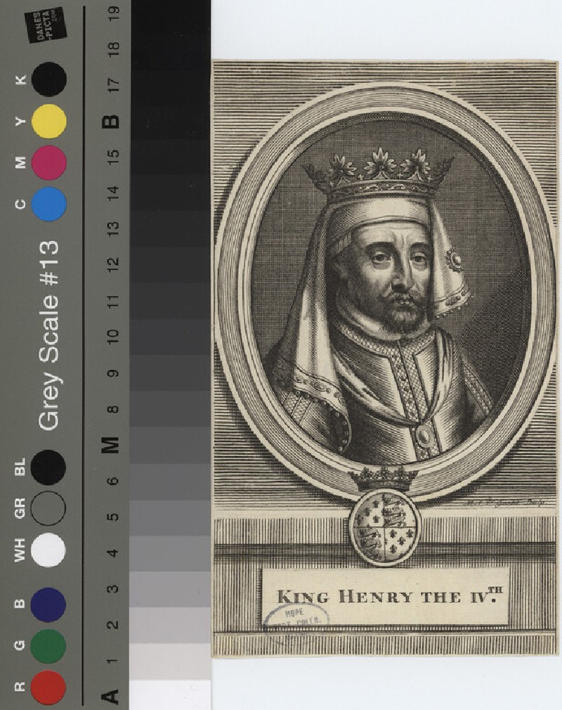 Portrait of Henry IV (WAHP12131.1, record shot)