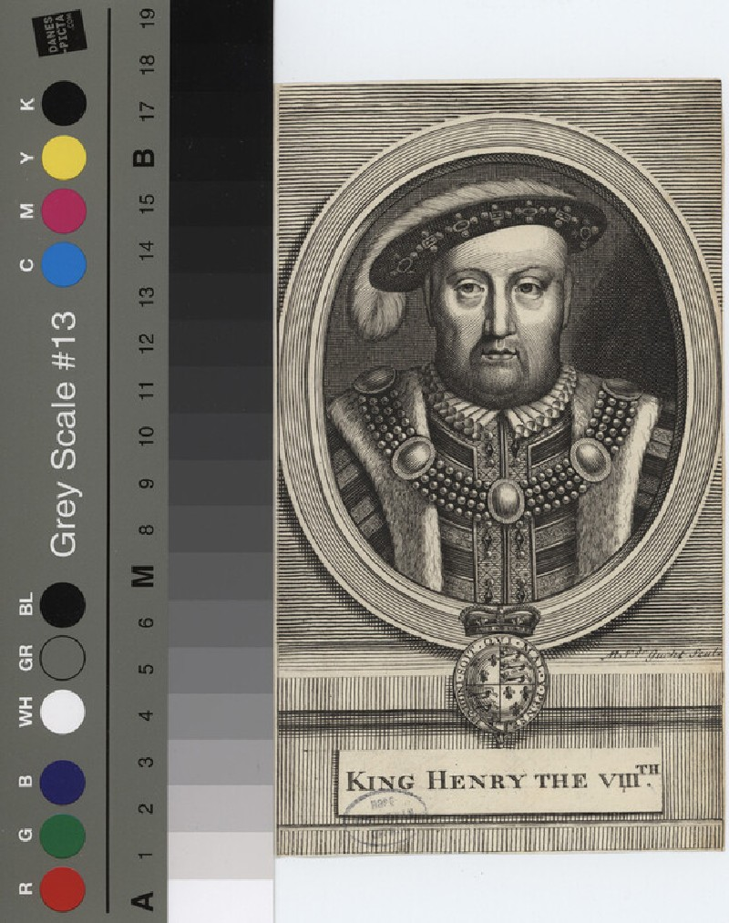 Portrait of Henry VIII (WAHP12139.1, record shot)