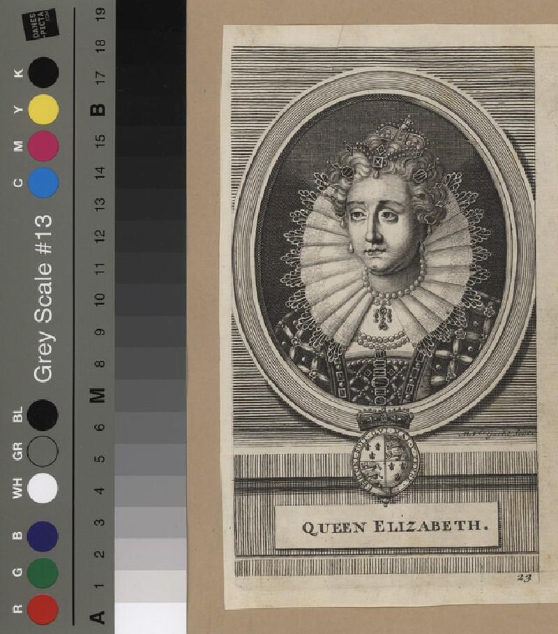 Portrait of Elizabeth I (WAHP12143, record shot)