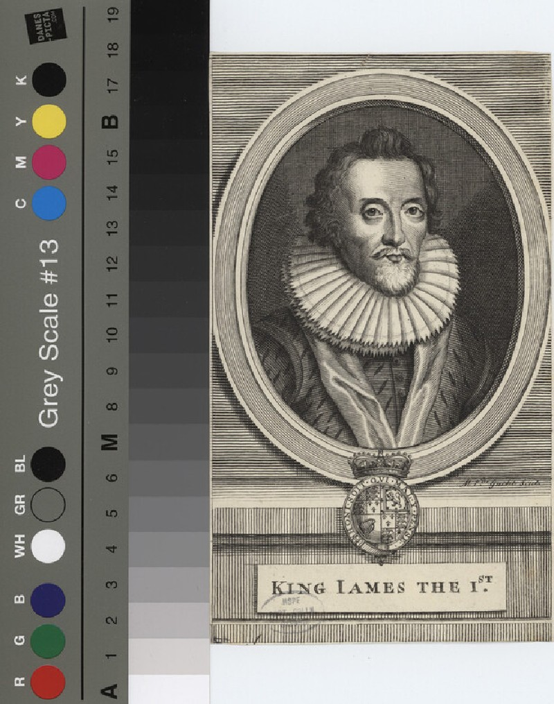 Portrait of James I (WAHP12144.1, record shot)