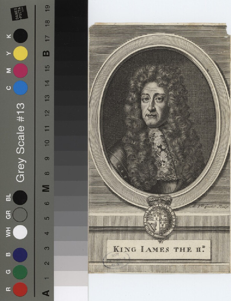 Portrait of James II (WAHP12150, record shot)