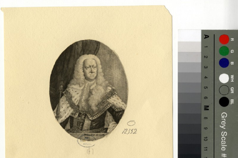 Portrait of George II (WAHP12352, record shot)