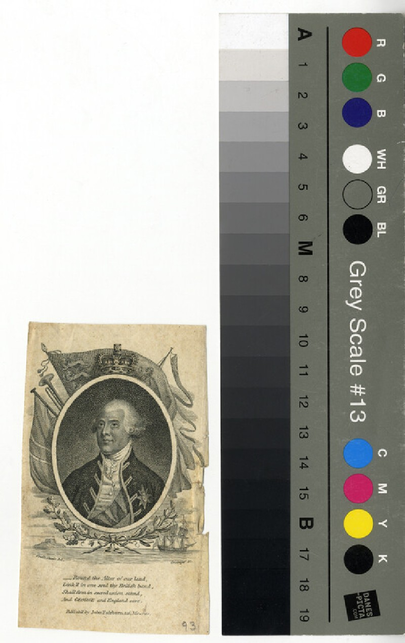 Portrait of George III (WAHP12446, record shot)